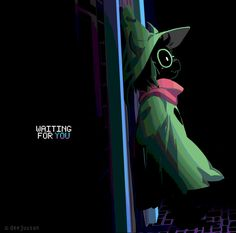 The short legend of Ralsei 🖤💚💗 It's been a long while since a story moved me so much I took a day off to drawn fanart for. Deltarune is promising. Undertale Cute, Undertale Fanart, Undertale Ships, Frisk, Toby Fox, Satsuriku No Tenshi, Game Art, Indie Games, Art Drawings
