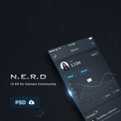 "Check out this @Behance project: ""NERD PSD UI Kit - iPhone 6s, SE"" https://www.behance.net/gallery/48659411/NERD-PSD-UI-Kit-iPhone-6s-SE"