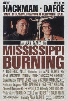 Mississippi Burning movie poster