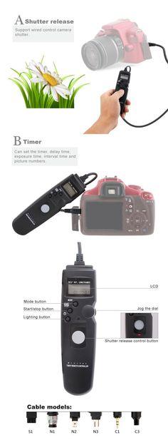 NO FREIGHT FEE - 80N3 C1 LCD Digital Camera Timer Remote Control Shutter Release for Canon EOS 60D 550D 600D 650D 1100D 450D 700D 500D 350D 300D Shop now