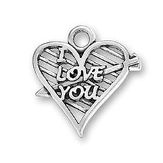 Hunger Games Inspired I Love You Charm