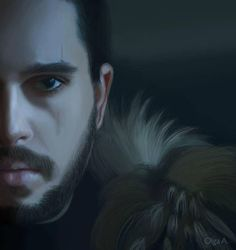 Pure talent! Jon Snow by AyameShinoda.deviantart.com on @DeviantArt