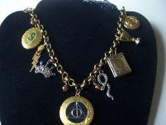 Harry Potter Horcrux Locket necklace by 1luckysoul (Etsy)