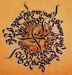Art Print of a Bahai Prayer. 19.00, via Etsy. Prayers