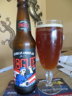 Rogue American Amber Ale 5,1% too hoppy for my taste