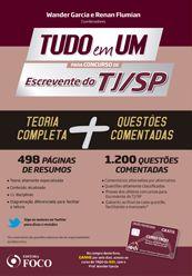 TUDO em UM para Concursos de ESCREVENTE DO TJ/SP - 1ª Ed - 2014