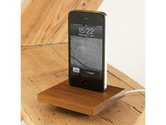 Sweet & Sour Walnut Docking Station für iPhone 4 / #iPhone4 #iPhone4S #dockingstation Iphone 4s, Ipod, Apple Tv, Sweet, Thoughts, Places, People, Docking Station, Slipcovers