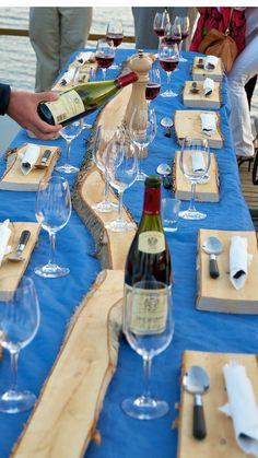Dining Swedish Lapland style www.lulea-swedishlapland.com