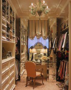 Closet : Dressing Room : Mirrors : The Enchanted Home : Andrew Skurman Dressing Room Closet, Closet Bedroom, Dressing Rooms, Dressing Tables, Dressing Area, Closet Space, Master Closet, Master Bedroom, Girls Dream Closet