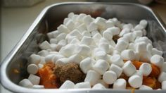 Sugar, just sugar. That's basically what candied yams are – a very indulgent treat during holidays – this recipe is easy and perfect for people who have a sweet tooth (like myself)! Ingredients: 1 cup mini marshmallows 1-2 large sweet yams OR 1-2 small sweet yams per person, boiled and peeled 1/2 cup butter 1/2 …