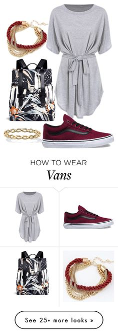 """5 minutes"" by be-the-1 on Polyvore featuring Vans, Proenza Schouler and Palm Beach Jewelry"