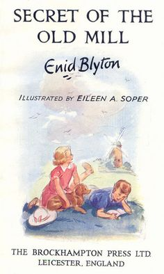 I read all of her books as a child.