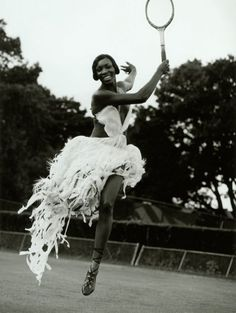 Venus Williams looking glamorous ... #wimbledonworthy