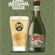 Cidre CRAFTY Artisanal Suisse 330 ml / 5 % Schweiz