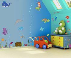 Papier peint mural pour les chambres denfants ~ Décor de Maison / Décoration Chambre