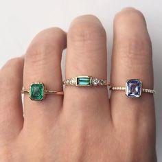 Vale Jewelry Adelaide, Equinox and Ceylon Rings