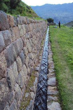 Cusco Tourism: 512 Things to Do in Cusco, Peru Peru Tourism, Landscape Design, Garden Design, Stone Wall Design, Dry Stone, Ancient Architecture, Cusco Peru, Irrigation, Water Features
