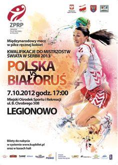 Kwalifikacje do Mistrzostw Świata w Serbii 2013 Polska vs Białoruś 7.10.2013 Legionowo