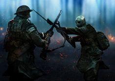 Gunpowder is moist for a long time. by Oleg Danylenko on ArtStation. Ww1 Art, Character Art, Character Design, Steampunk, Future Soldier, Alternate History, Post Apocalypse, Military Art, Dieselpunk