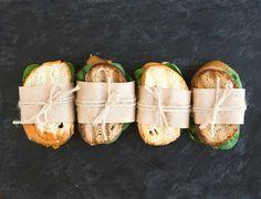 Chicken and spinach sandwiches by sonyakamoz on Creative Market