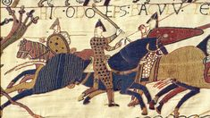 The Bayeux Tapestry is one of the most well known and interesting pieces of artwork from the Middle Ages. In the feature, we will take you into what you need to know about the Bayeux Tapestry. Medieval Life, Medieval Art, Bayeux Tapestry, Viking Age, Anglo Saxon, British History, Historian, Middle Ages, Design Crafts