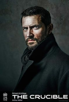 "Richard Armitage is going to be John Proctor in the new adaptation of the classic play ""The Crucible"". I don't know if I will watch this or not. it's about the Salem Witch Trials which are kind of dark. but ohhhhhhhhh Richard Richard Armitage, Cthulhu, Writing Inspiration, Character Inspiration, Portrait Inspiration, World Of Darkness, Shadowrun, Character Portraits, Character Art"