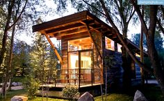Uninque Luxury Cabins Wyoming | Cabins Teton National Park