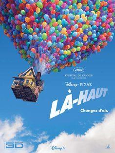 Là-haut est un film de Pete Docter avec Edward Asner, Jordan Nagai. Synopsis : Des studios Disney-Pixar arrive la comédie d'aventure «Up», qui suit un vendeur de ballons de 78 ans, Carl Fredricksen