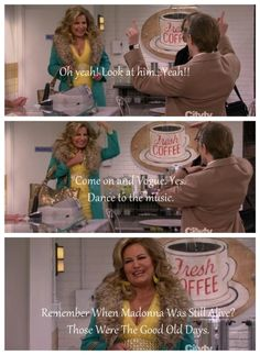 """Remember those days when Madonna was still alive?"" Hhahahahahahaha Sophie is so hilarious!"