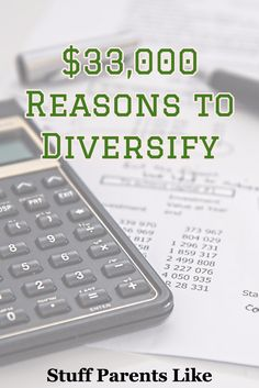 Find out how not diversifying cost me $33,000...and I was a pro
