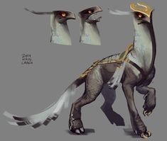 (By Kris Crash) ~Gryffid~ Gryffids are the result of the union of a hippogriff and a horse. They are landlocked like their equine parent, but have the countenance of their gryphon ancestry. They are swift mounts, and can bound over rough landscapes with ease.
