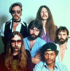The Exciting Doobie Brothers: Four white guys and (two) black.
