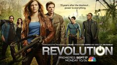 http://www.tennisforum.com/showthread.php?t=519370  Revolution is an action driven show that follows characters who are trying to survive after technology disappeared. This show aired in the year of 2013.