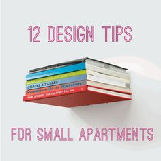 In need of alittle extra room? We've compiled 12 design tipsto help your tiny pad feel like a penthouse.  1. Turn an Ikea bookshelf into your own personal display closet    One functional way to divide up your space is to add a bookshelf between sections of your apartment. You can make it ex