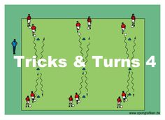 """Tricks and Turns # 4 What exactly is a trick or move in soccer? A good trick is usually a deception of the competition. We're """"selling"""" them a motion that we are not going to execute. Volleyball Tips, Soccer Tips, Soccer Games, Soccer Workouts, Golf Tips, Youth Soccer, Play Soccer, Soccer Stuff, Top Soccer"""