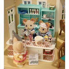 Ice Cream parlour in the department store
