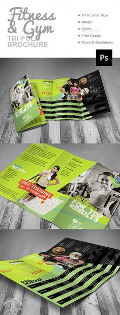 Fitness  Gym Flyer Template  Flyer Template Fitness And Gym