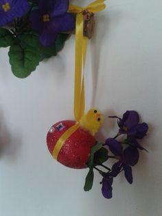 Uovo vero decorato