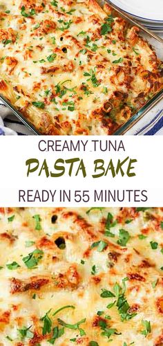Creamy Tuna Pasta Bake – a classic meal that everyone loves – made with mostly store-cupboard ingredients! Creamy Tuna Pasta Bake S Life slifehealthy Thanksgiving 2019 Creamy Tuna Pasta Bake – a Easy Tuna Recipes, Canned Tuna Recipes, Baked Pasta Recipes, Seafood Recipes, Vegetarian Recipes, Cooking Recipes, Baked Pasta Dishes, Sauce Recipes, Creamy Tuna Pasta Bake