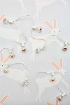 This sweet print by Gingiber is perfect for any Littles room. Leaping Bunnies is a favorite among editors + influencers!