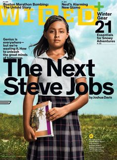 """Meet 12-year-old Paloma Noyola Bueno. She goes to José Urbina López Primary School in Matamoros, Mexico. She's being touted as ""the face of Mexico's unleashed potential."" ... Our current idea of ""genius"" might be a Silicon Valley white guy with glasses, but a small brown girl from a dirt-poor town could be a future game-changing icon, thanks to experimental teaching methods. ... After taking an achievement exam, Paloma received the highest math score in her class - and country."
