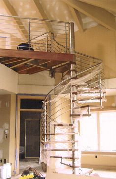 Stainless Spiral Stair
