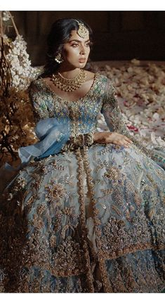 Elan Bridal, Girls Dp Stylish, Bridal Outfits, Indian Fashion, Victorian, Asian, Suits, Wedding, Inspiration