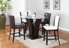 Ambrose 5pc Pub Set. . . #furniture #homedecor #interiordesign #design #decor #home #living #office #family #entertainment #luxury #affordable #sale #discount #freeshipping #canada #toronto #usa #america #fashion #design #bedroom #comfort #happy #style #rest #relax #dinner #lunch #dine #breakfast #food