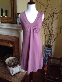 Athleta Lavender Purple Dress Sleeveless Tennis Work Out Casual Womens Medium #Athleta #Sundress #Casual