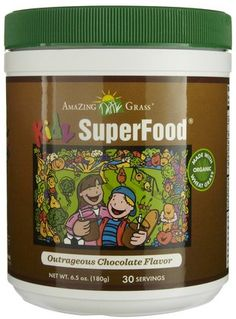 amazing grass kidz superfood chocolate milk powder!....this is good stuff. I also tried the berry flavor, but it made me gag. Lol. Oh well!