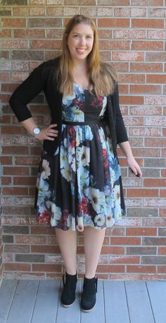 Stitch Fix Review by Joules! Birthday Fix with the Maggy London Izan Floral Dress