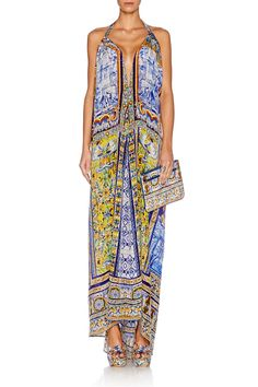 CAMILLA ROAD TO SEVILLE DRAWSTRING DRESS 2