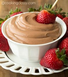 Nutella Cheesecake Dip recipe from Cooking Classy | Featured in Dessert Dips slideshow from Gooseberry Patch