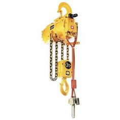 Hoist, Air Chain, 2 Ton by Ingersoll-Rand. $7954.63. Severe Duty High Production Air Chain Hoist, Capacity 2 Tons, Lift Speed 13 FPM, Minimum Distance between Hooks 23 Inches, Number Parts of Chain 2, Lift 10 Feet, Housing Length 16 1/4 Inches, Housing Depth 23 Inches, Housing Width 14 1/2 Inches, Rigid Top Hook, Pendent Control RestrictionsNote: Air line lubricator required, see Index. 550- to 10,000-lb. Capacity High-Production Air Chain HoistsClosed air system ...